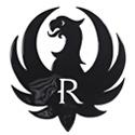 Ruger Eagle Metal Sculpture - Black - 16