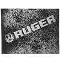 Ruger Hard R Decal
