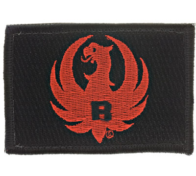 Red/Black Tactical Patch