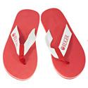 Women's Red Flip Flops