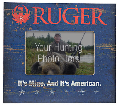 Ruger Picture Frame -   American