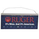 Ruger Metal Sign - American