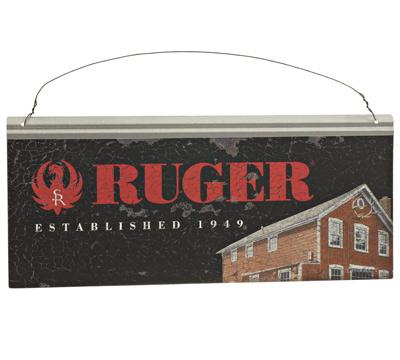 Ruger Metal Sign -  Historic