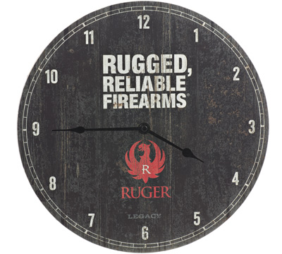 Ruger Wall Clock -  Brand