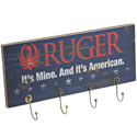 Ruger Wood Plank Key Rack -  American