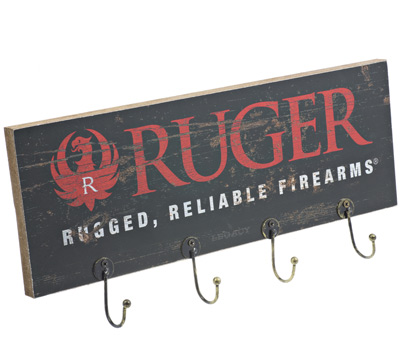 Ruger Wood Plank Key Rack -   Brand