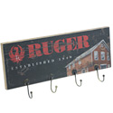 Ruger Wood Plank Key Rack -   Historic