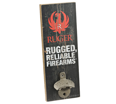 Ruger Wall Mount Bottle Opener  -  Brand
