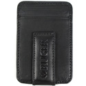 Magnetic Money Clip/Front Pocket Wallet - Black