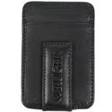 Magnetic Money Clip/Front Pocket Wallet - Black