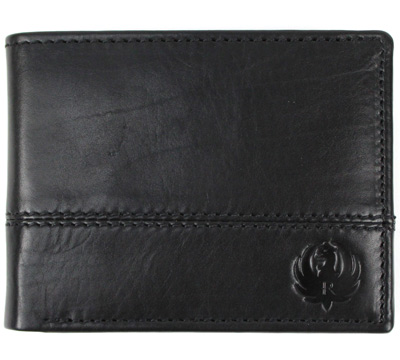 Bi-Fold Wallet - Black
