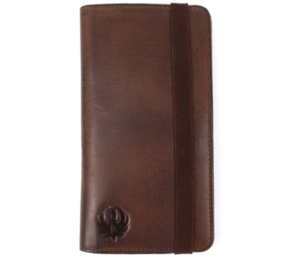 Universal Magnetic Phone Wallet - Brown