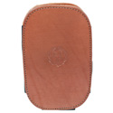 Leather Cell Phone Holster - Mahogany