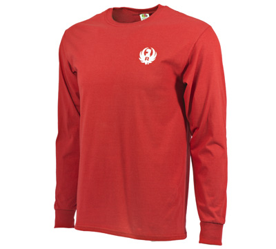 Red Long Sleeve Tee