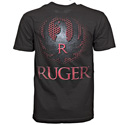 Ruger® Grid Cut Out Black Tee