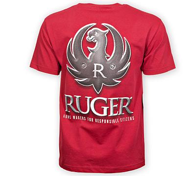 Ruger Tactical Logo Cardinal Tee ShopRuger