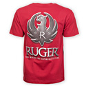Ruger® Tactical Logo Cardinal Tee