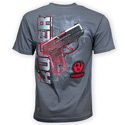 Ruger® It's Technical Charcoal Tee