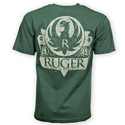 Ruger Vintage Shield Forest Green Tee