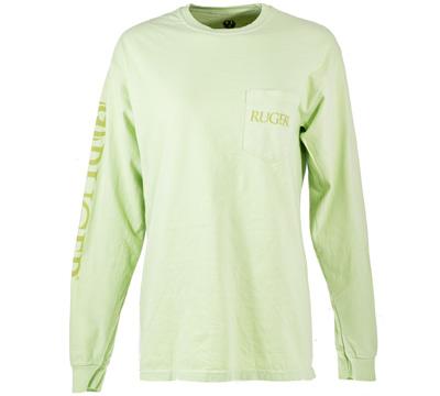Long Sleeve Pocket T-Shirt - Celadon