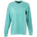 Long Sleeve T-Shirt  - Seafoam