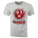 Ruger Brushed White Tee