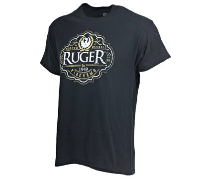 Antique Label Black T-Shirt