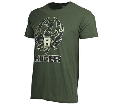 Digi Camo Miltary Green T-Shirt