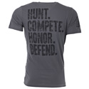 Hunt Compete Honor Defend Heavymetal T-Shirt