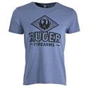 Ruger Diamond Eagle Denim Heather T-Shirt