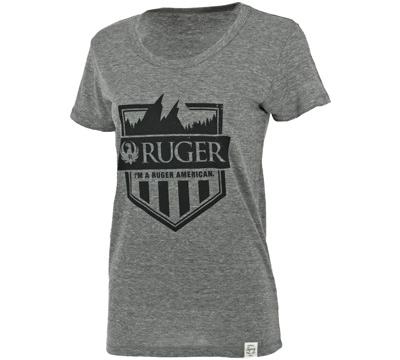 Ruger Women's Tri-Blend Crewneck