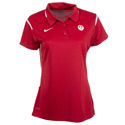Ruger Nike Team Women's Scarlet Gameday Polo