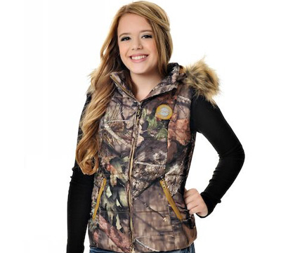 Mossy Oak® Country™ Fur Vest
