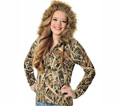 Mossy Oak® Brush Fur Hoodie