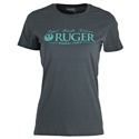 Ruger Rugged Tee In Charcoal