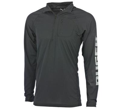 Go Wild® Camo Black Ruger ¼ Zip Shirt