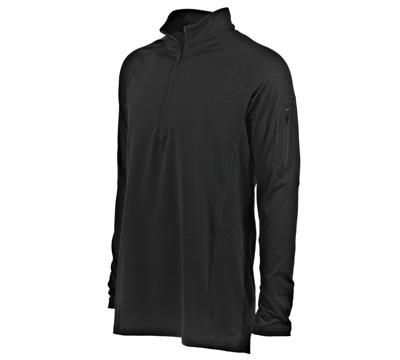 Go Wild® Camo Black Ruger Momentum  ¼ Zip Shirt