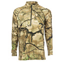 Go Wild® Camo I-M Brush Momentum  ¼ Zip Shirt