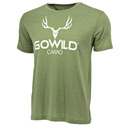Go Wild® Camo Logo T-Shirt - Green