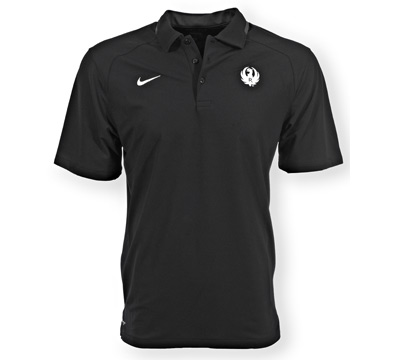 Ruger Nike Black FB Players Polo