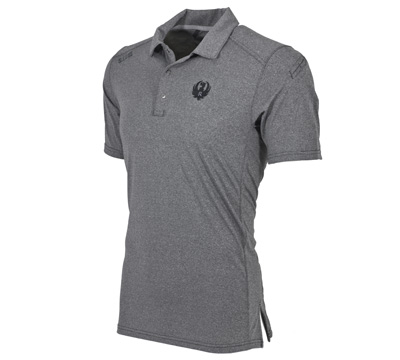 511 Paramont Polo - Charcoal Heather