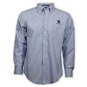 Ruger® Men's Navy Blue Striped Long Sleeve Dress Shirt