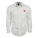 Ruger White Broadcloth Long Sleeve Shirt