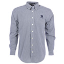 Ruger Navy Blue Gingham Check Long Sleeve Shirt