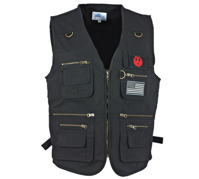 First Strike Original Concealment Vest - Black