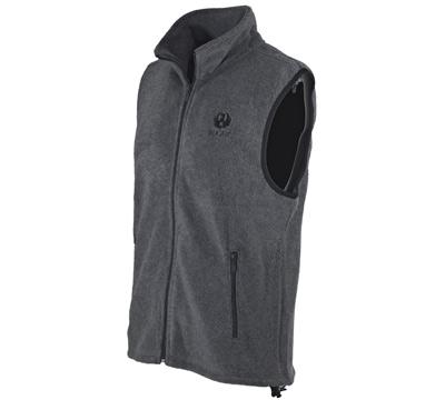 Charcoal Fleece Vest