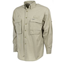 Fisherman Long Sleeve Shirt Sand