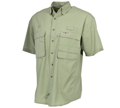 Fisherman Short Sleeve Shirt Sage