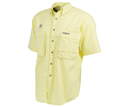 Fisherman Short Sleeve Shirt Banana