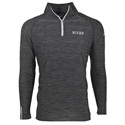 Flint Men's 1/4 Zip Pullover - Black